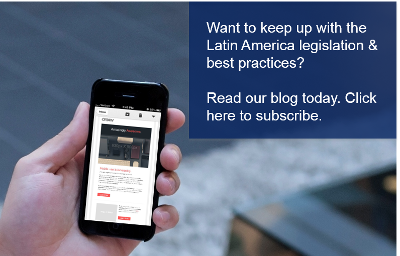 Invoiceware International Latin America E-Invoicing eNewsletter Sign Up