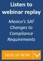 Update on Mexico's SAT Changes to Compliance Requirements