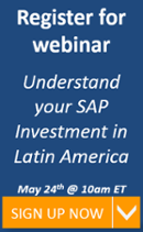 Understanding your SAP Investment in Latin America