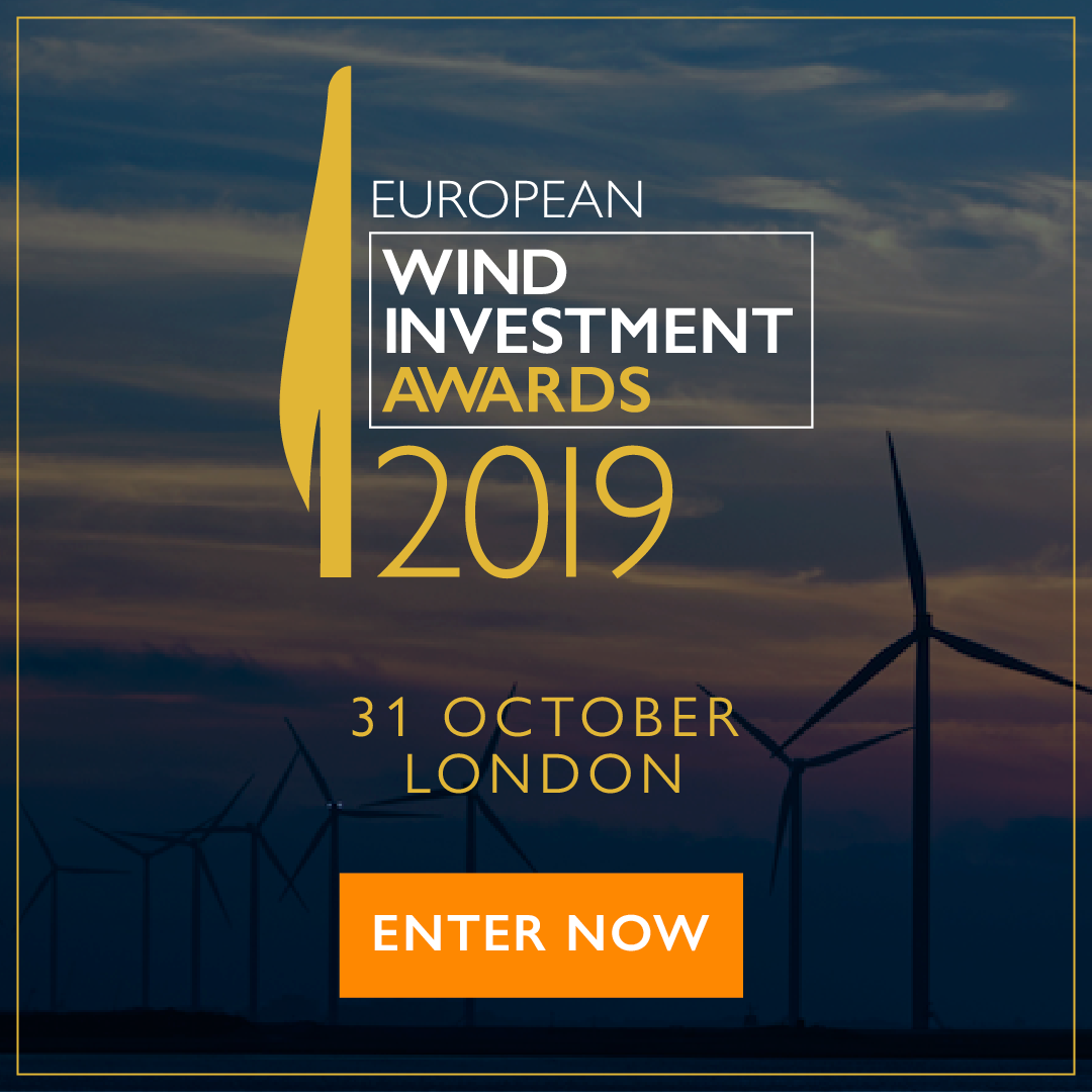 European Wind Investment Awards - Enter Now