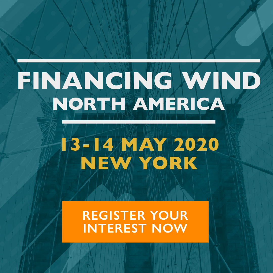 Financing Wind North America 2020 - Register your interest now