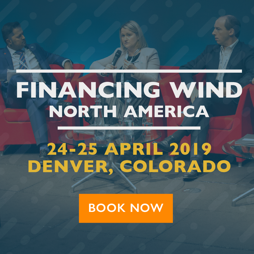Financing Wind North America - Book Now
