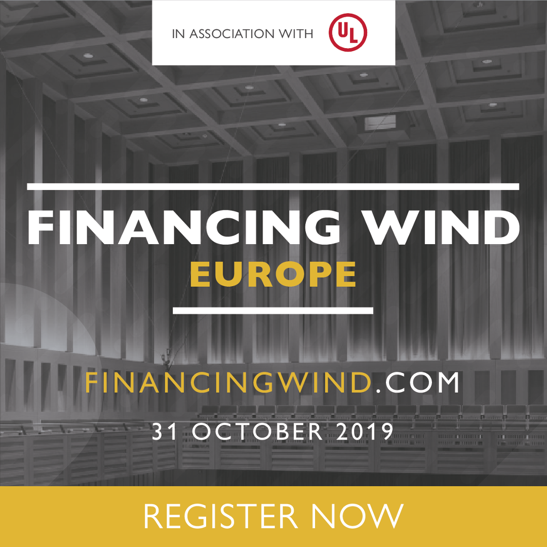 Financing Wind Europe - Register Now