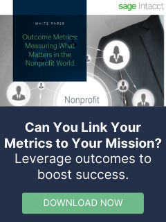 Outcome Metrics - Measure What Matters in the Nonprofit World
