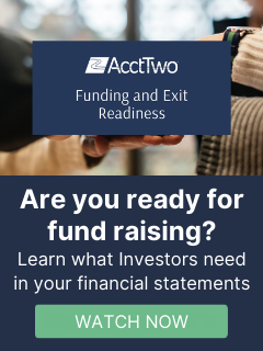 Be ready for fund raising or exit with help from AcctTwo