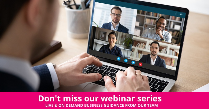 Webinar from The Marketing Centre
