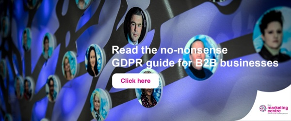 The go to guide to GDPR from The Marketing Centre