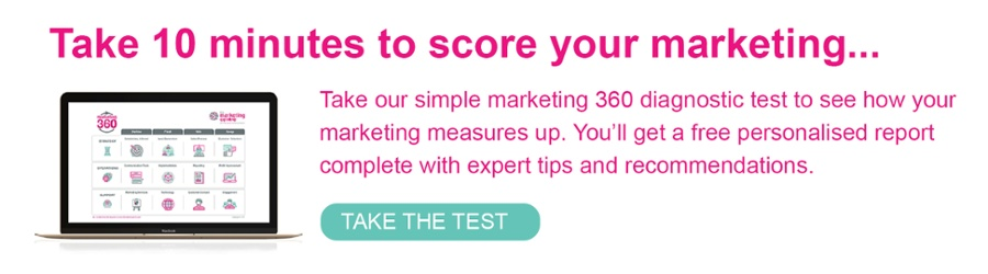 Take our marketing 360 diagnostic test