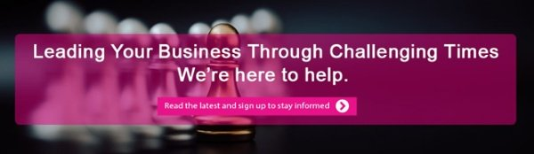 Leading your business through challenging times