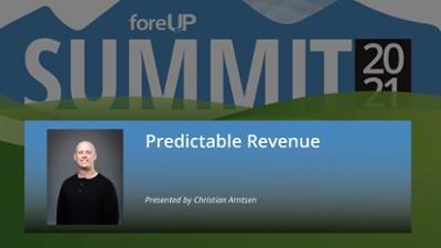 predictable revenue for golf course