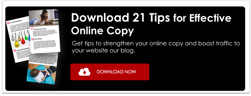 21 tips for effective online copy