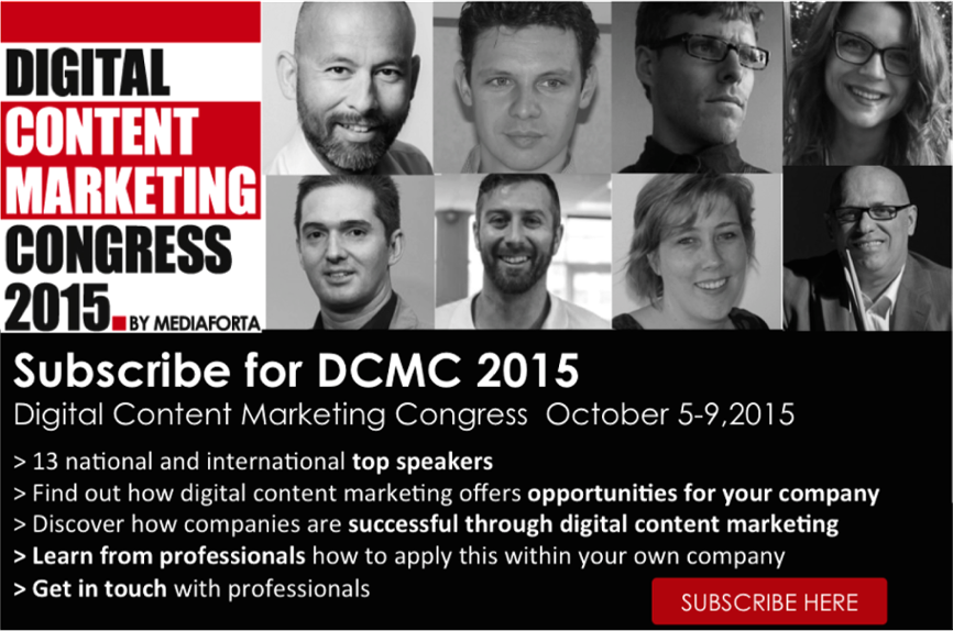 Digital content marketing congress 2015