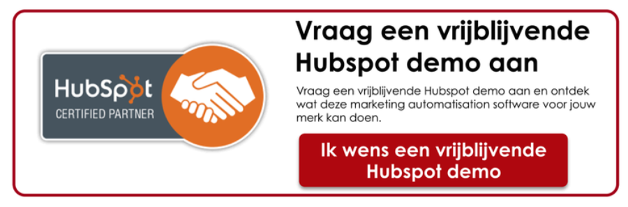 Hubspot demonstratie