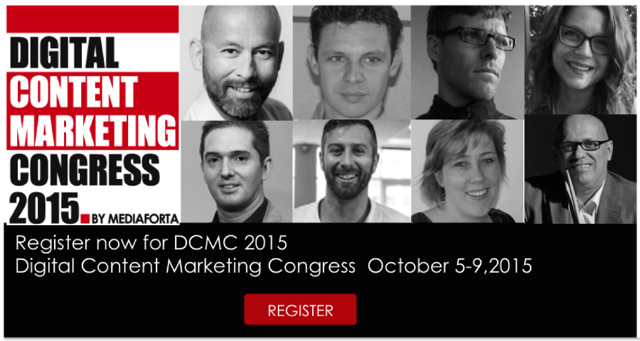 Register for digital content marketing congress 2015