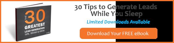 Lead Generation Marketing - 30 Tips - eBook