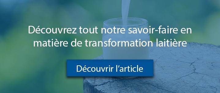 Article Savoir-faire transformation lait