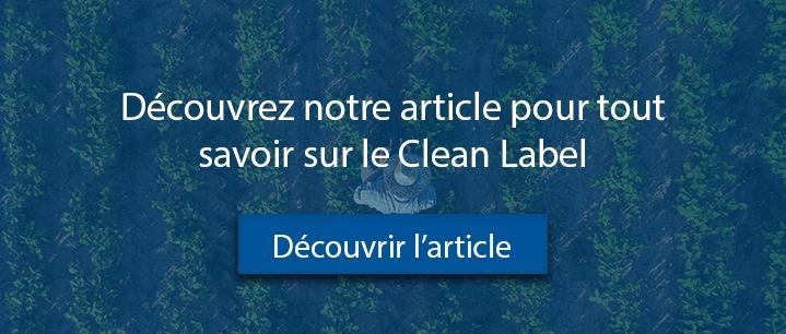 Article Tout savoir sur le Clean Label