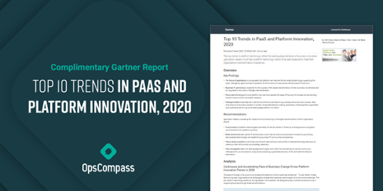 Top 10 Trends in PaaS and Platform Innovation, 2020