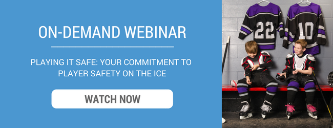On-Demand Webinar - Playing It Safe: Your Commitment to Player Safety On The Ice