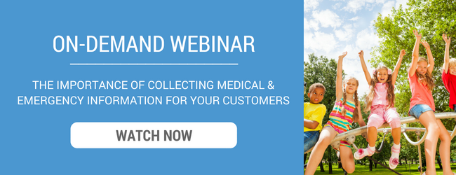 On-Demand Webinar - The Importance of Collecting Medical & Emergency Information For Your Customers