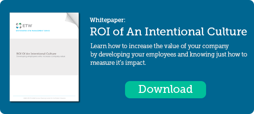 ROI of An Intentional Culture