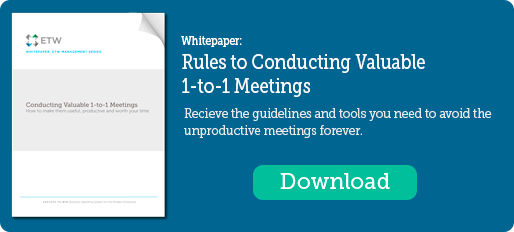Conduct Valuable 1 to 1 Meetings