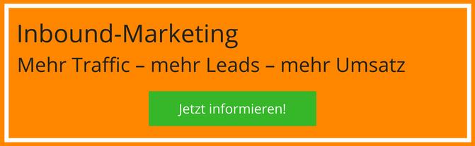 Inbound Marketing – Jetzt informieren!