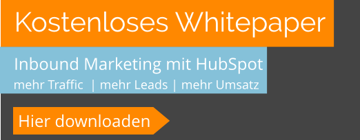 Inbound Marketing mit HubSpot