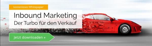 Jetzt downloaden: Inbound Marketing Whitepaper - Der Turbo für den Verkauf
