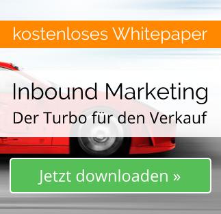 Inbound Marketing Whitepaper - Der Turbo für den Verkauf