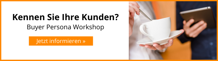 Buyer Persona Workshop mit HOPPE7