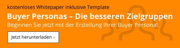 Kostenloses Whitepaper: Buyer Personas – Jetzt downloaden!