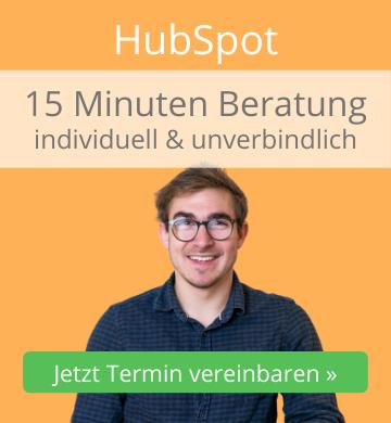 15 Minuten Beratung HOPPE7 zu HubSpot