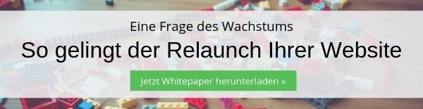 Whitepaper Website Relaunch
