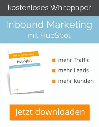 Inbound Marketing mit HubSpot - Whitepaper