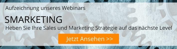SMARKETING – heben Sie Ihre Sales und Marketing Strategie auf das nächste Level