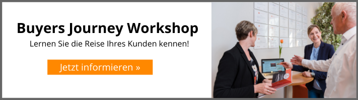 Buyers Journey Workshop mit HOPPE7