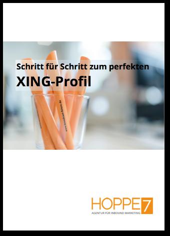 Schritt für Schritt zum perfekten XING-Profil