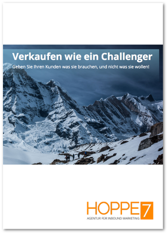 Kostenloses Whitepaper: Verkaufen wie ein Challenger