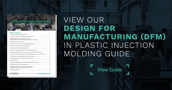 View our Design For Manufacturing (DFM) in Plastic Injection Molding Guide
