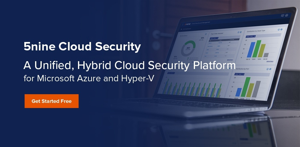 5nine cloud security trial