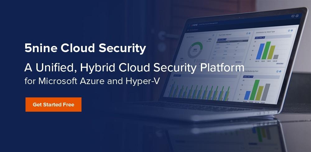 5nine cloud security trial
