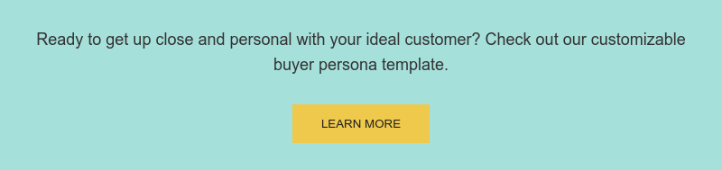 Ready to get up close and personal with your ideal customer? Check out our  customizable buyer persona template. Learn more