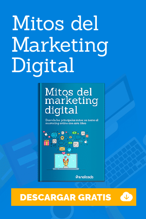 "Descarga el eBook gratuito ""Mitos del Marketing Digital"""