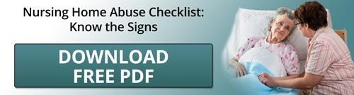 Nursing Home Abuse Checklist