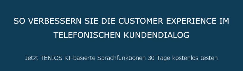 Customer Experience durch KI verbessern