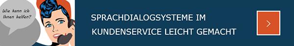 Sprachdialogsysteme Kundenservice