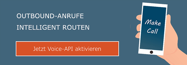 Outbound-Anrufe intelligent routen