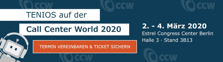 TENIOS auf der CCW 2020