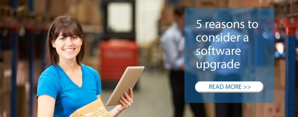 Five Reasons to Consider Upgrading your ERP Software